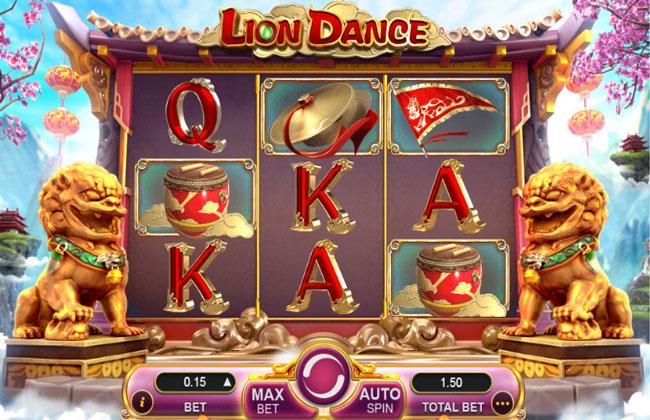LION DANCE - Hướng dẫn chơi, nạp rút tiền Múa sư tử Slot - Casino 7Ball - Sòng bài online uy tín số 1 Việt Nam