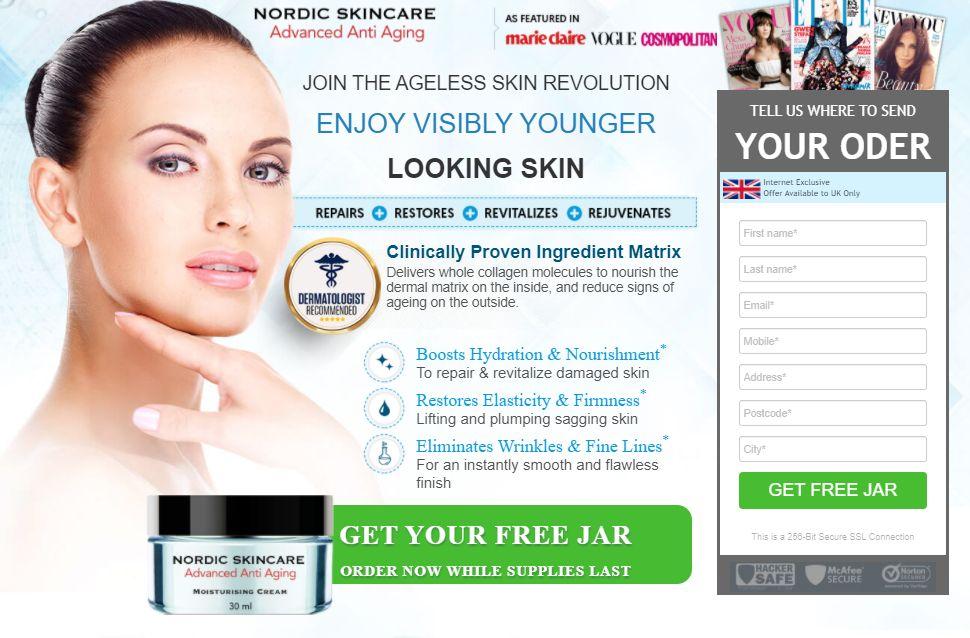 Nordic Skin Care Cream - Advanced Anti Aging Formula Work or Scam?