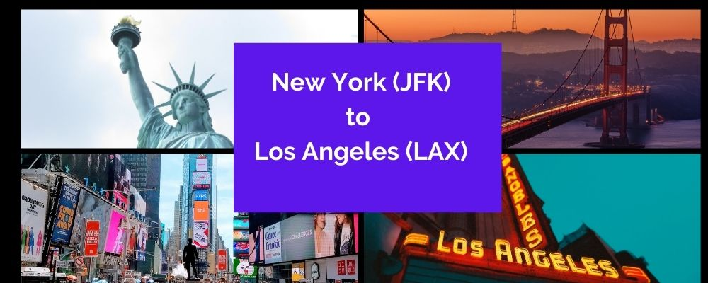 JFK to LAX Flights