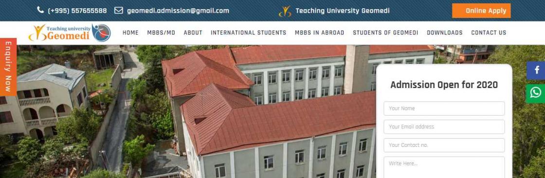 Geomedi India Cover Image