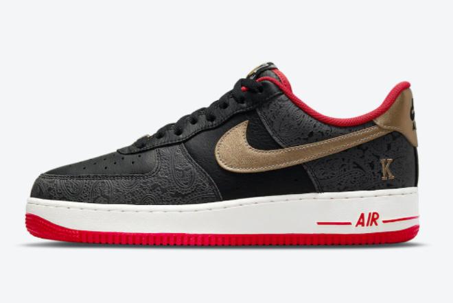 "Nike Air Force 1 Low ""Spades"" 2021 New Arrival DJ5184-001"
