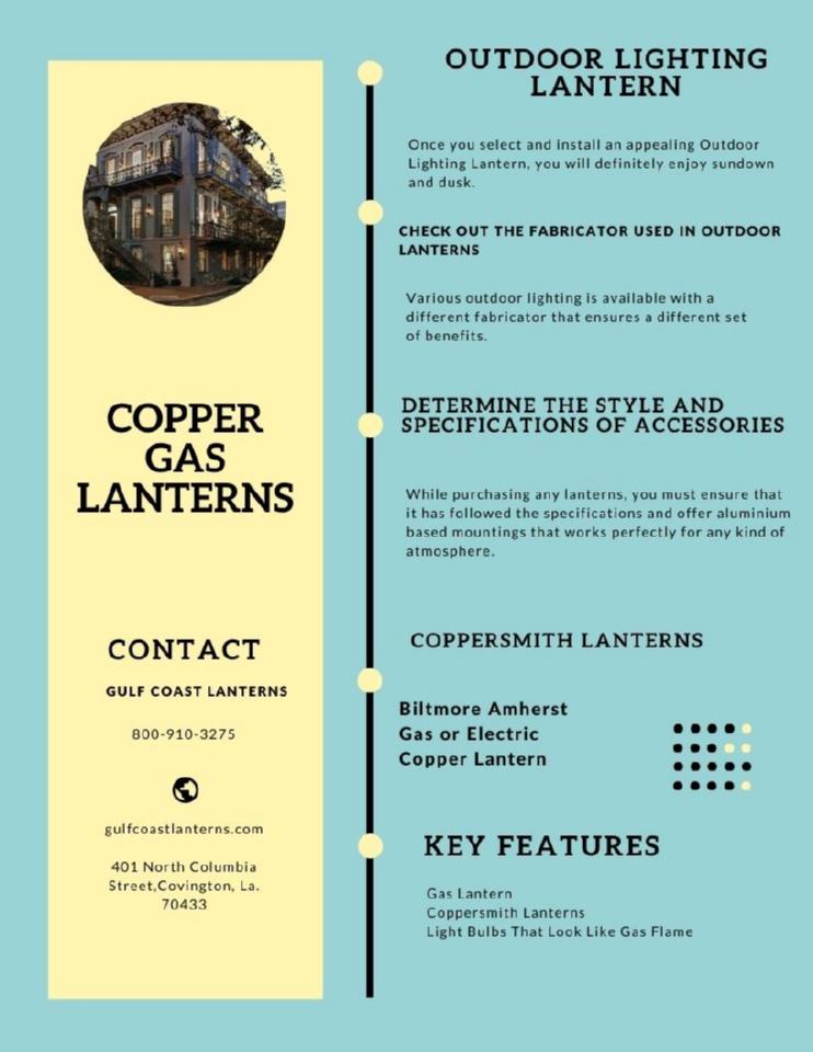 Copper Gas Lanterns   edocr