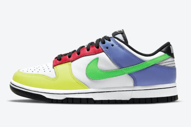 "Women's Nike Dunk Low ""Multi-Color"" 2021 New Arrival DD1503-106"