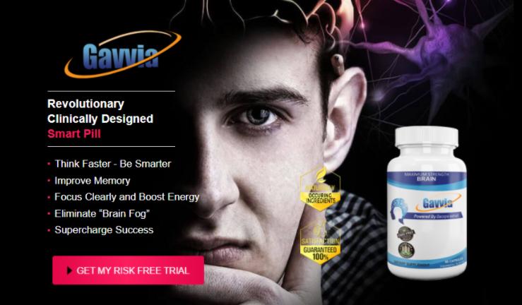 Gavvia Brain Pills Reviews - Improve Your Concentration & Brain Power!