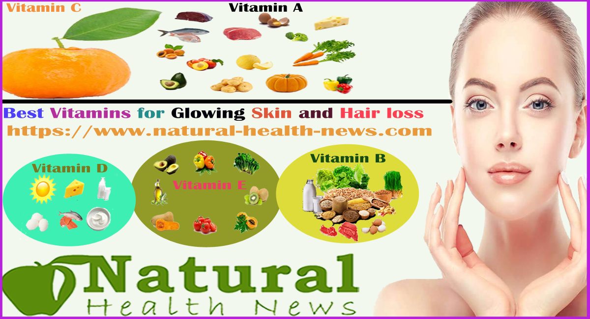 Best Vitamins for Glowing Skin and Hair loss