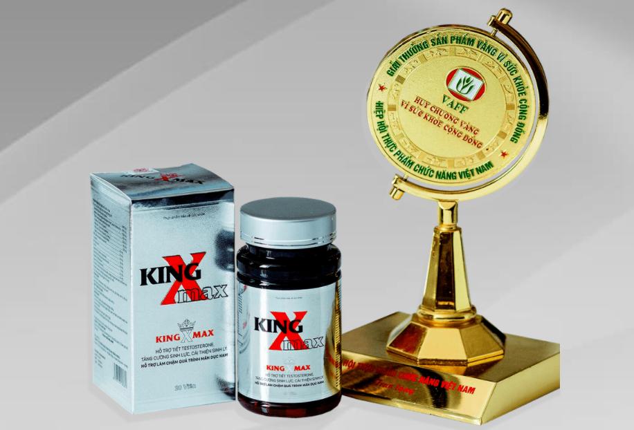 King X max : Viên thuốc, Nhận xét, Thành phần, Giá cả, Công trình