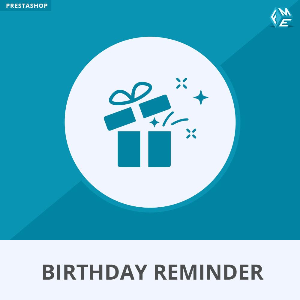 Birthday Reminder - PrestaShop Addons