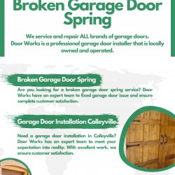 Broken Garage Door Spring | Visual.ly