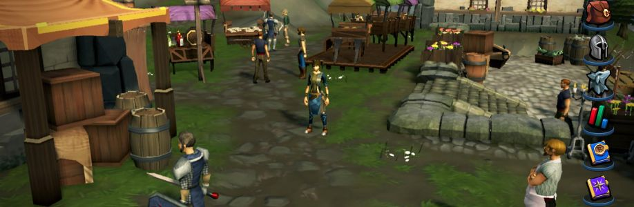 The cutscene is now in progress and OSRS Gold Cover Image