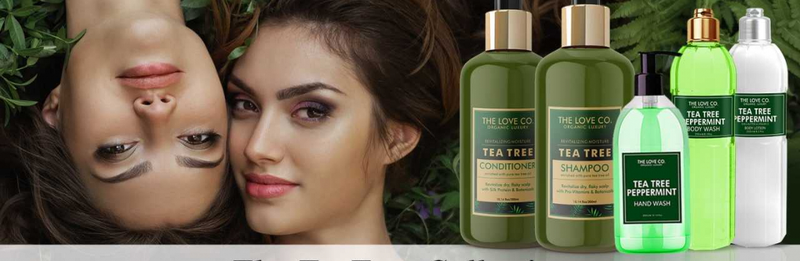 The Love Co Organic Luxury Skincare Brand Cover Image