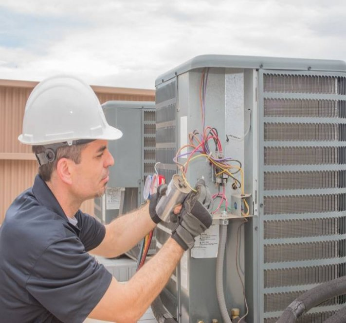 Heating, air conditioning and ventilation services all time.
