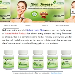 Online Store for Herbal Remedies and Supplements